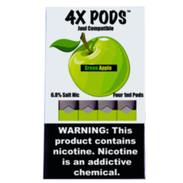Green Apple 4x pods