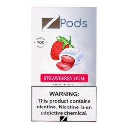 Ziip StockZiip Strawberry Gum
