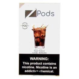 ziip pods iced cola